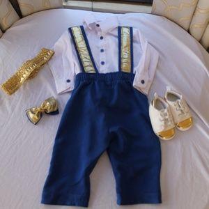 Baby Boys prince Costume Set